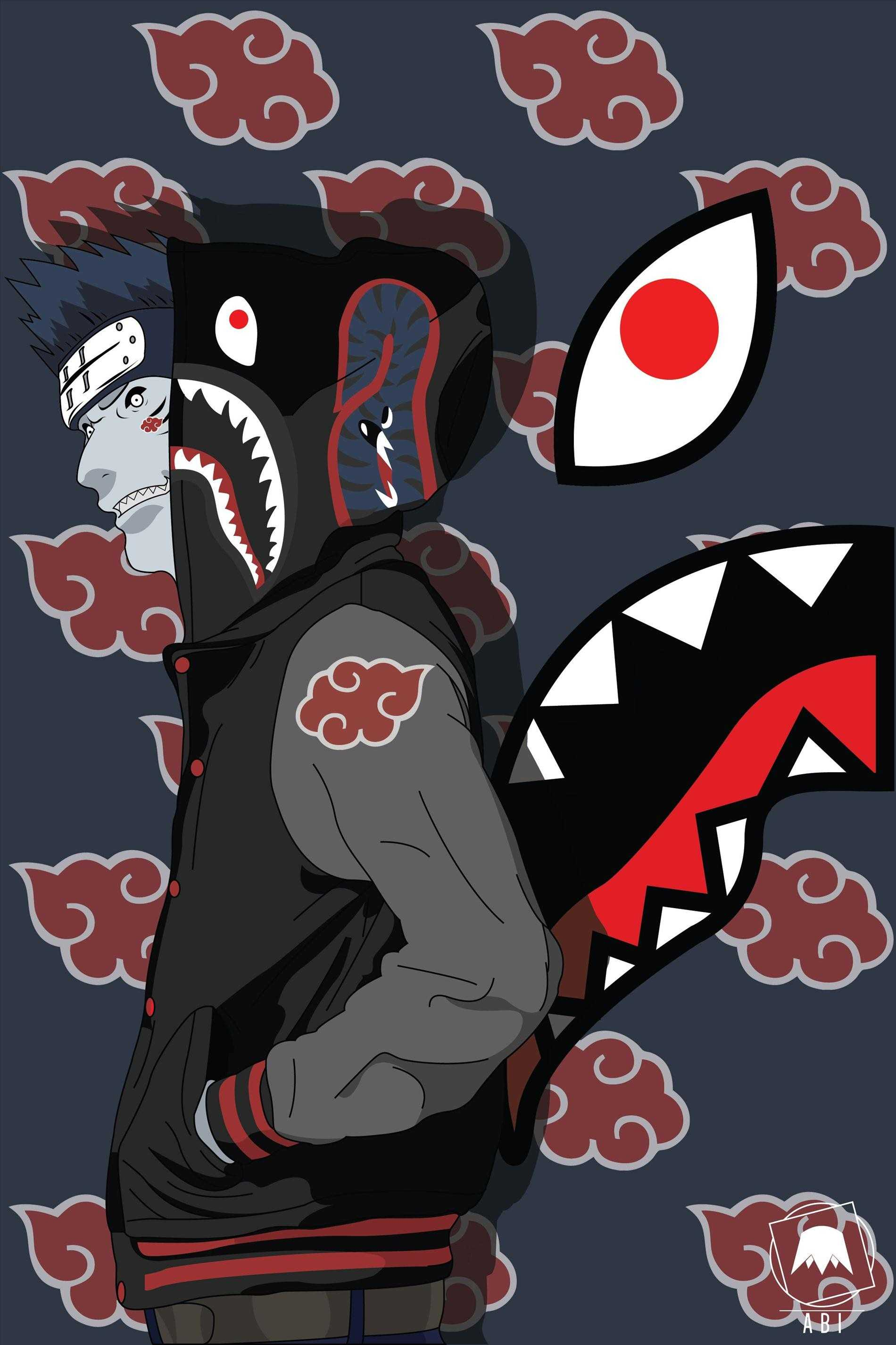 Bape Logo Wallpaper   Naruto Bape 41424   HD Wallpaper Download 1900x2851