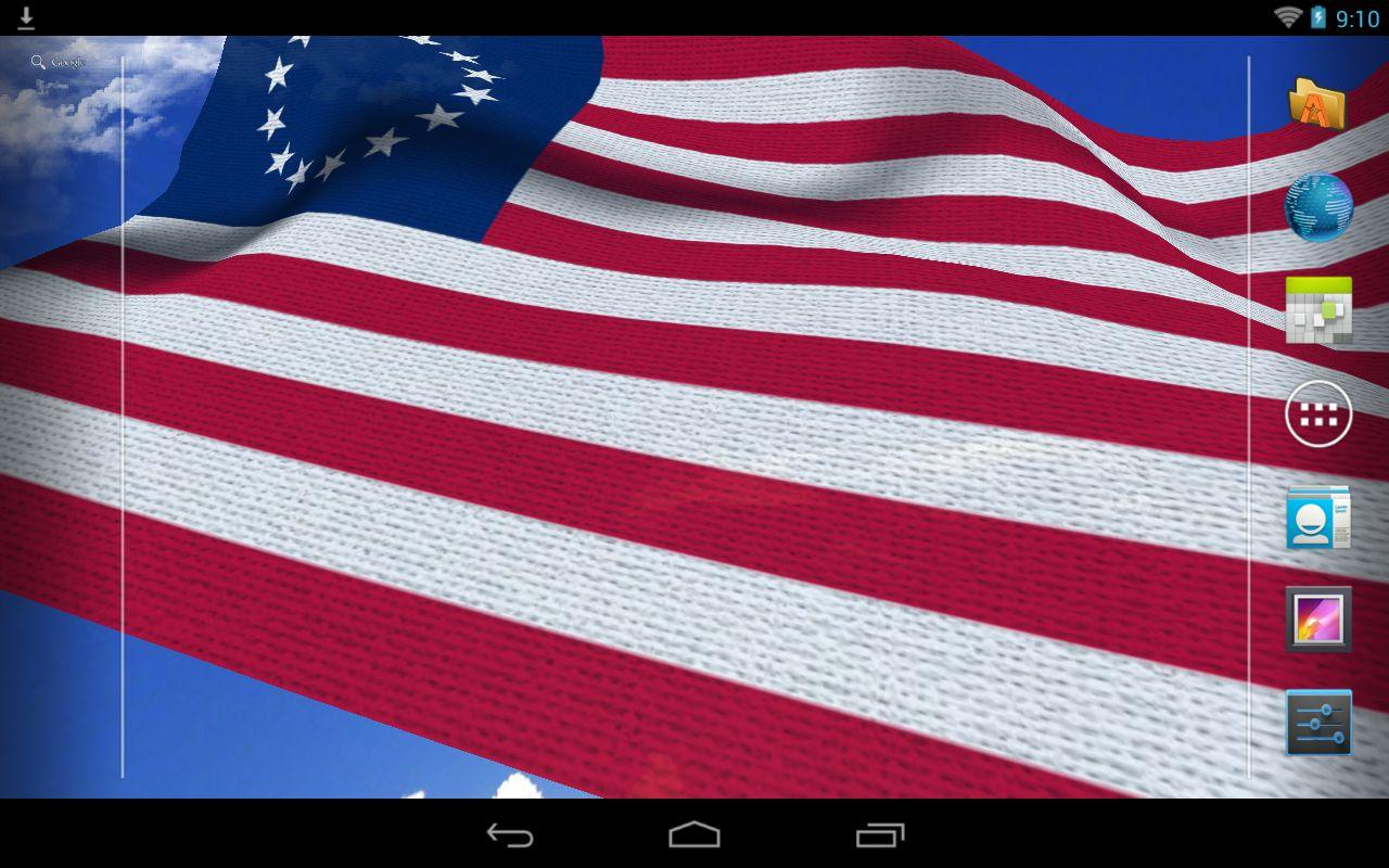 us flag live wallpaper a perfect live wallpaper for celebrating usa 1280x800