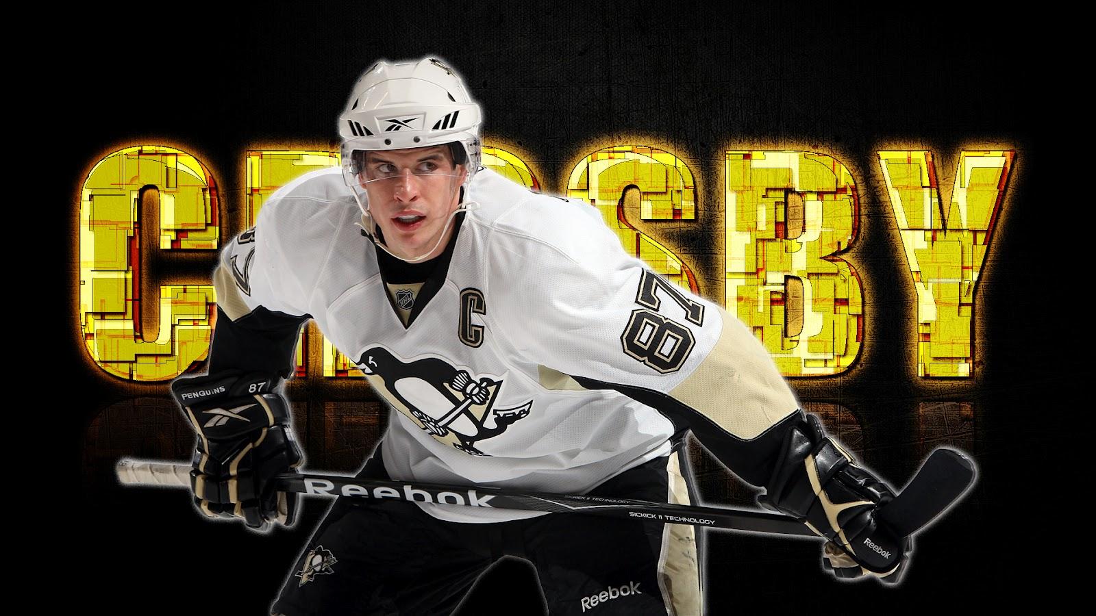 New Sports Stars Sidney Crosby Wallpaper 2012 1600x900