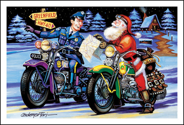 Harley Weihnachtsgrüße.43 Christmas Motorcycle Wallpaper On Wallpapersafari