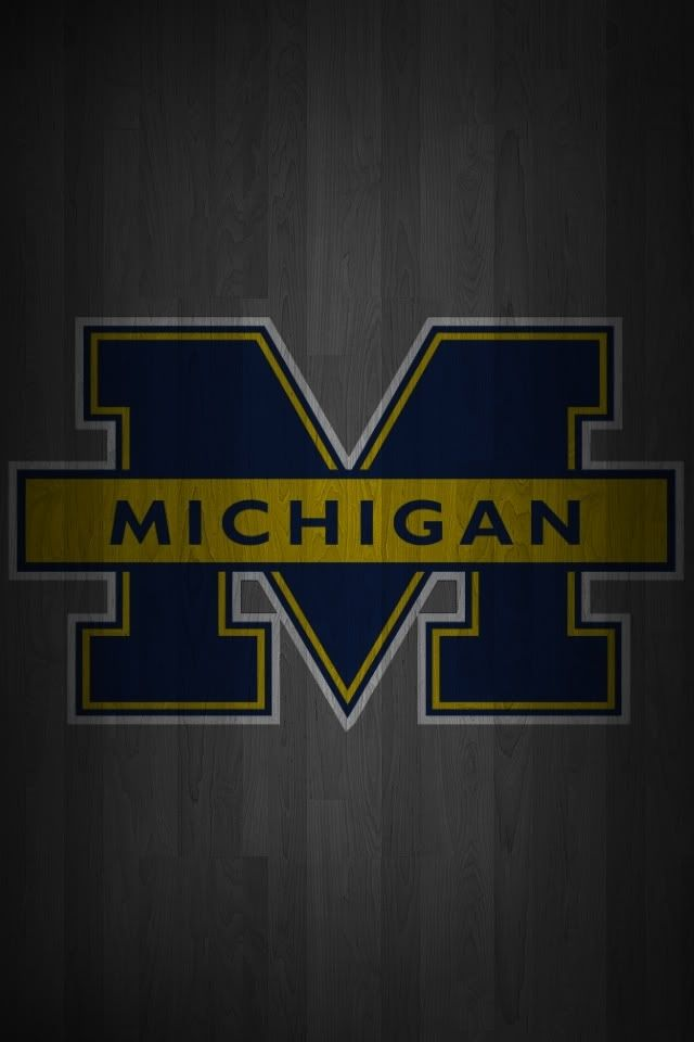 Michigan Wallpaper Iphone 6 Wallpaper Michigan sports Michigan 640x960