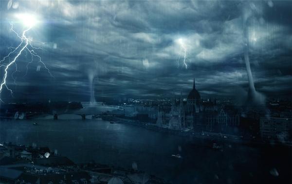 rivers parliament houses hurricane duna 1680x1060 wallpape Wallpaper 600x378