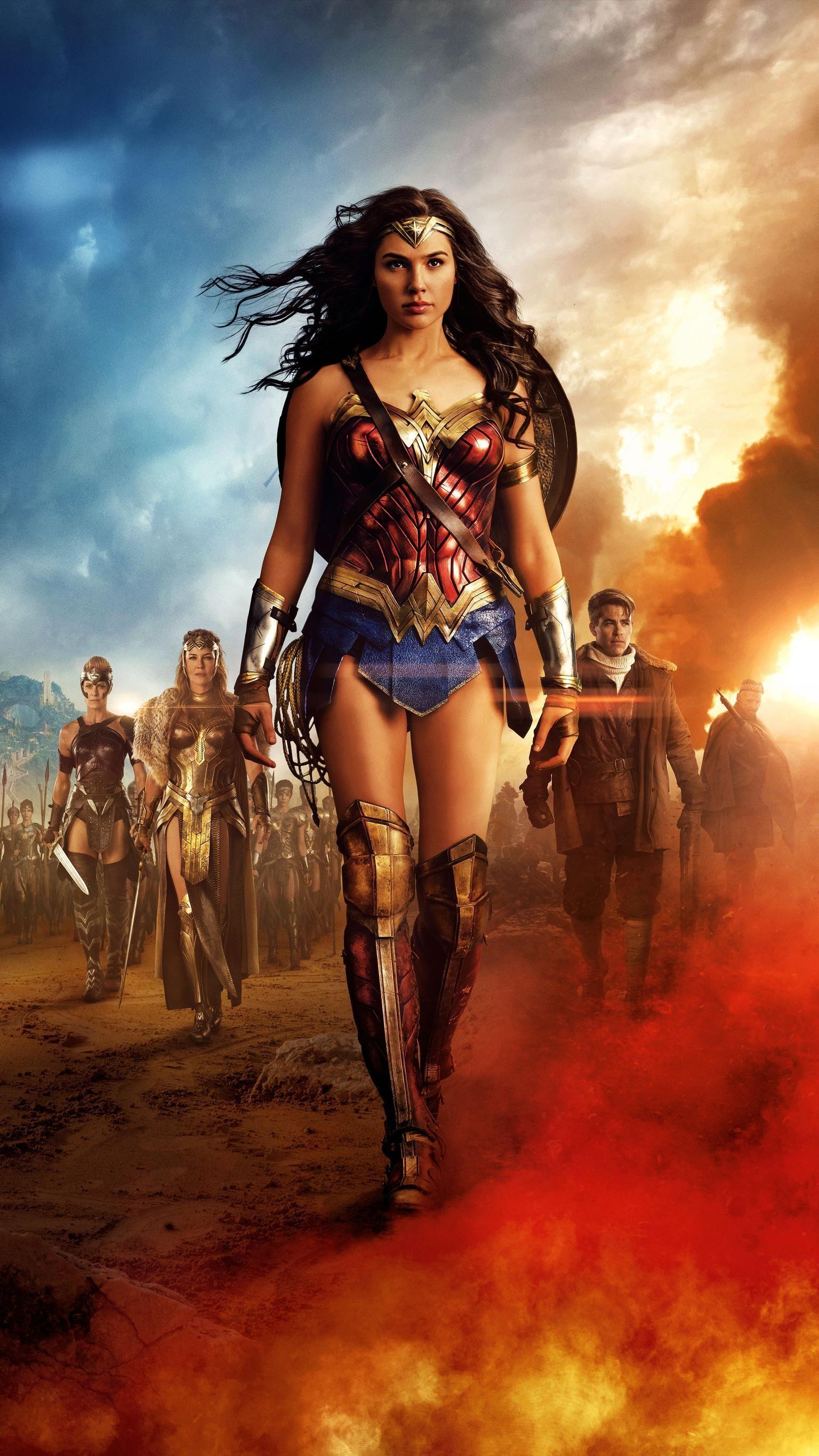 Wonder Women Phone Wallpapers   Top Wonder Women Phone 1536x2732
