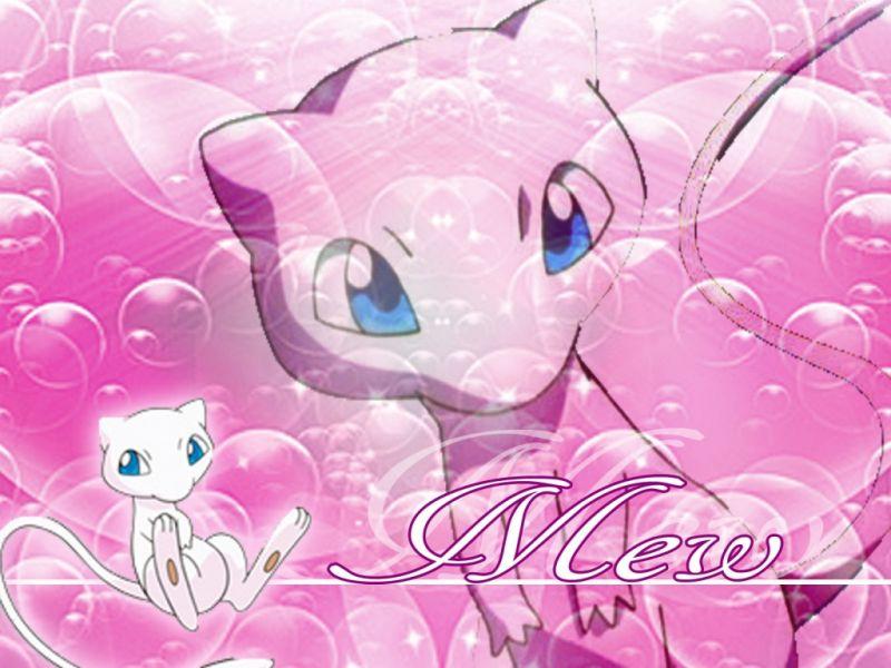Mew   Mew pokemon Wallpaper 37589911 800x600