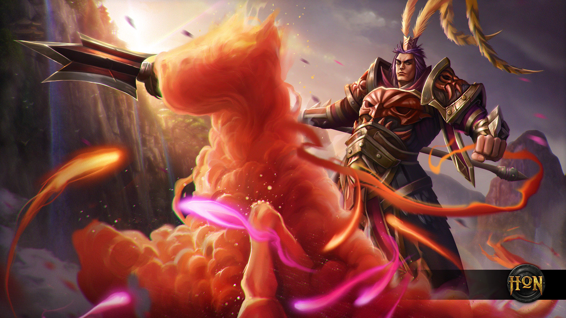 Free Download Lu Bu Monkey King Wallpaper Heroes Of Newerth Lore