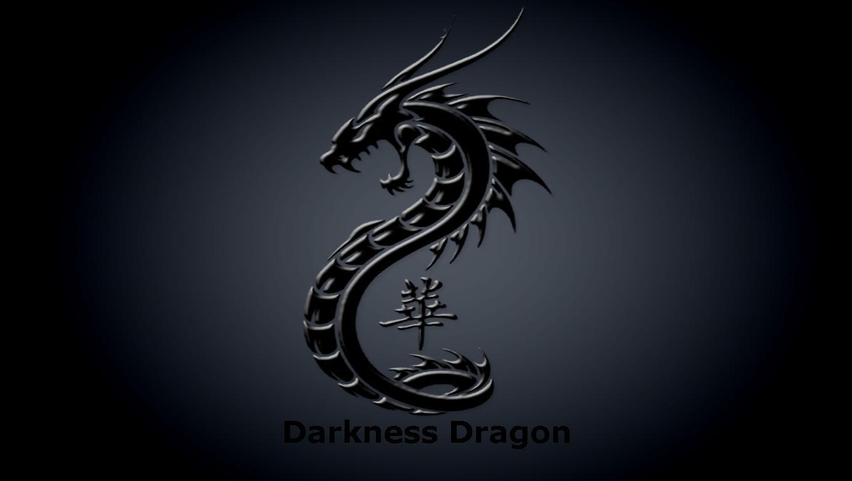 Black Dragon Wallpaper 1360x768