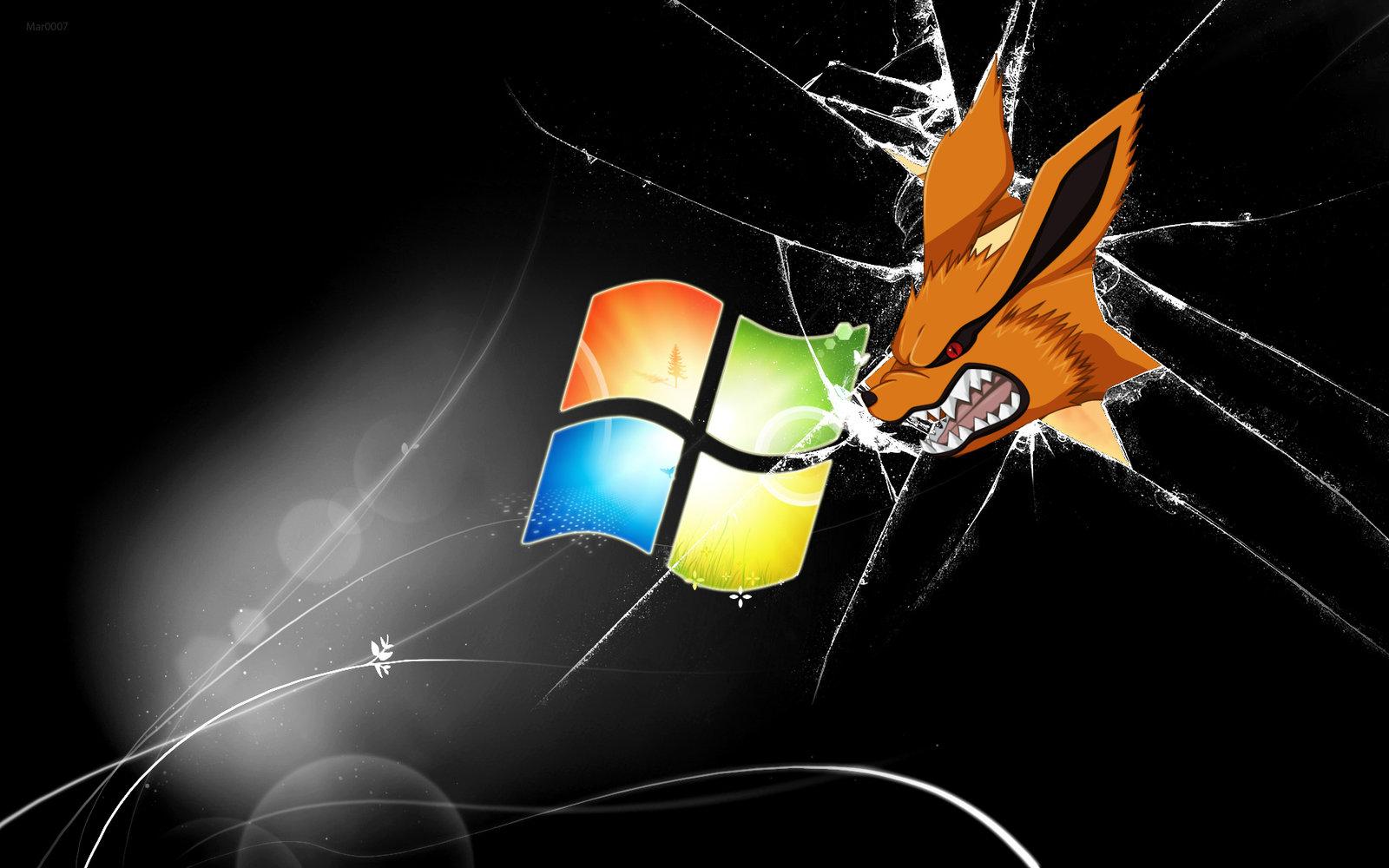 Nine Tailed Fox Windows Wallpaper by AlduinTheW0rld3ater 1600x1000