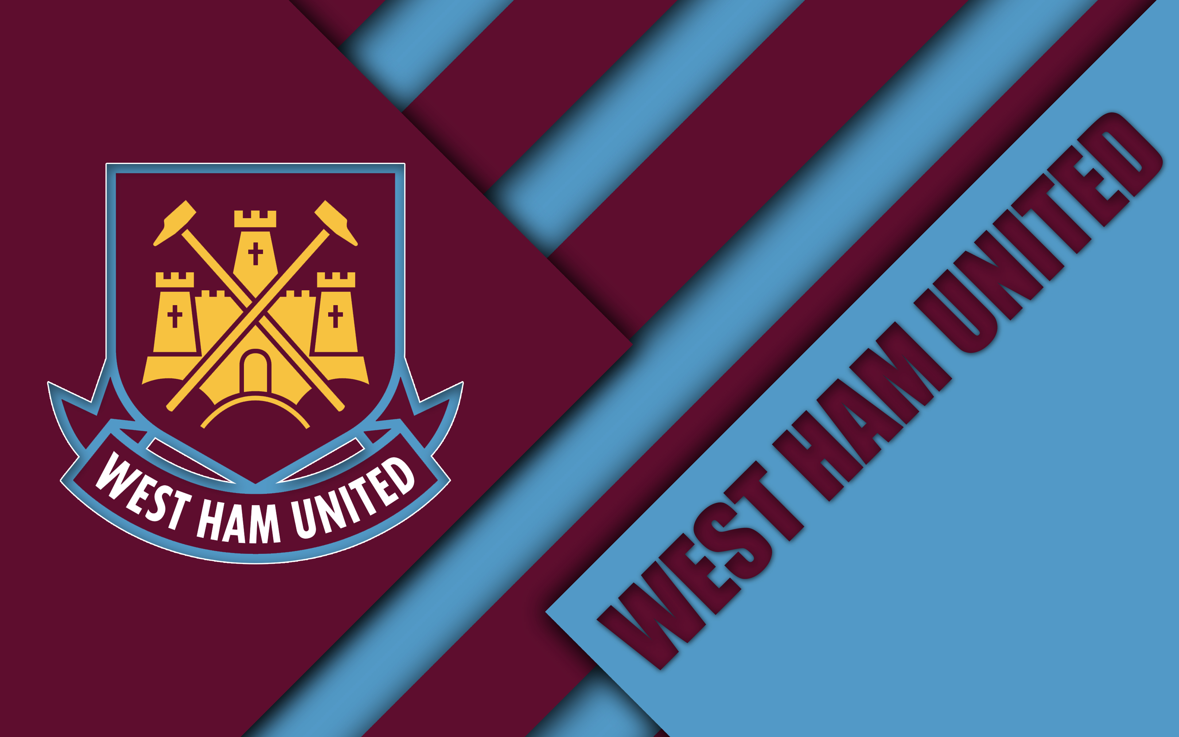 West Ham United FC 4k Ultra HD Wallpaper Background Image 3840x2400