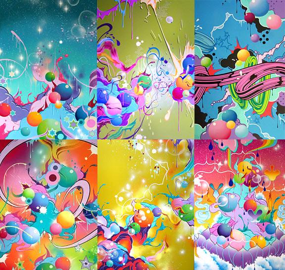 lisa frank wallpaper 576x546