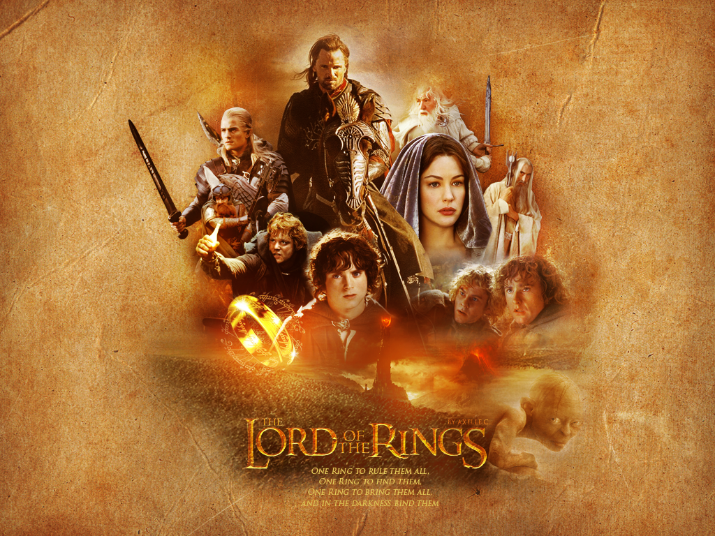 Lord Of The Rings Wallpaper by beyondwonderwall 1024x768
