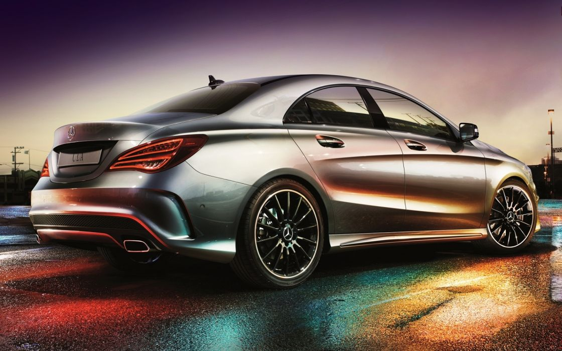 Mercedes Benz CLA 250 AMG tuning wallpaper 1920x1200 126178 1120x700