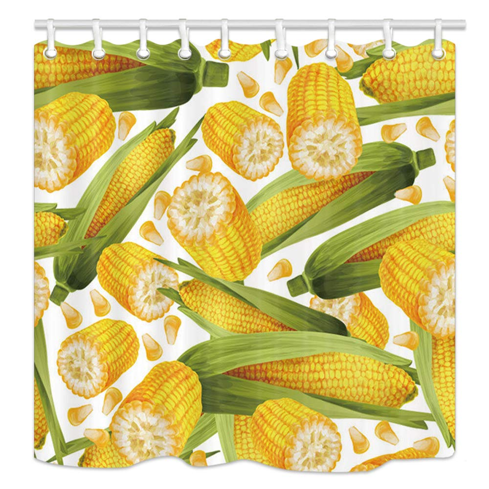 Amazoncom Farmhouse Vegetables Wallpaper Shower Curtains Nature 1000x1000