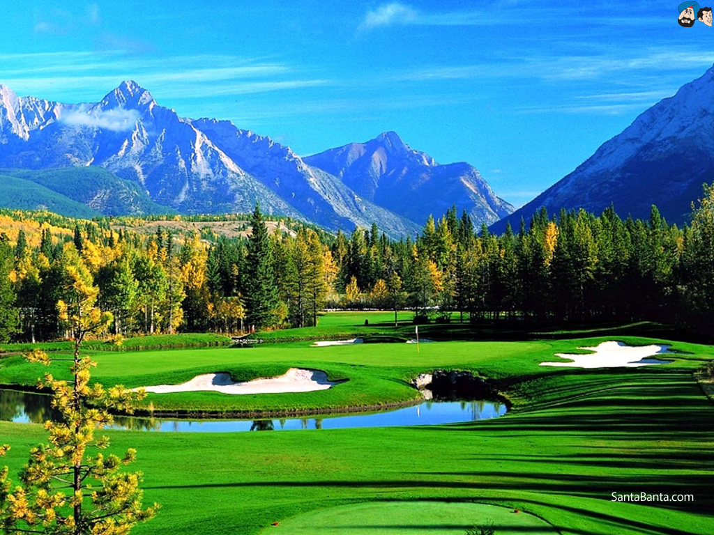 Beautiful golf course desktop wallpaper wallpapersafari for Beautiful wallpaper