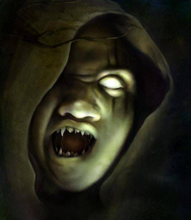 Scary Halloween Ghost Scary Halloween Ghost Holiday Picture 621x715