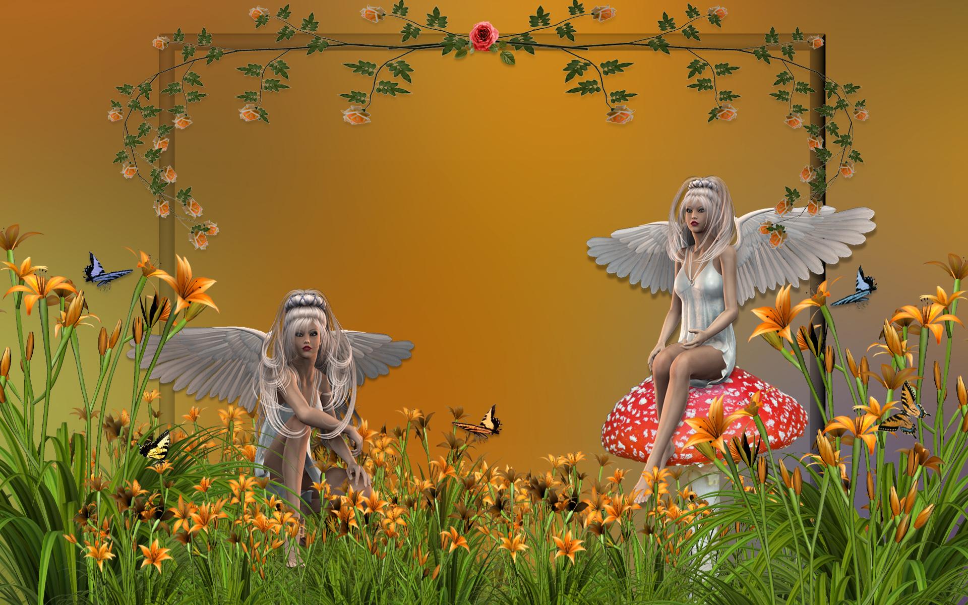 Garden Fairies 1920x1200