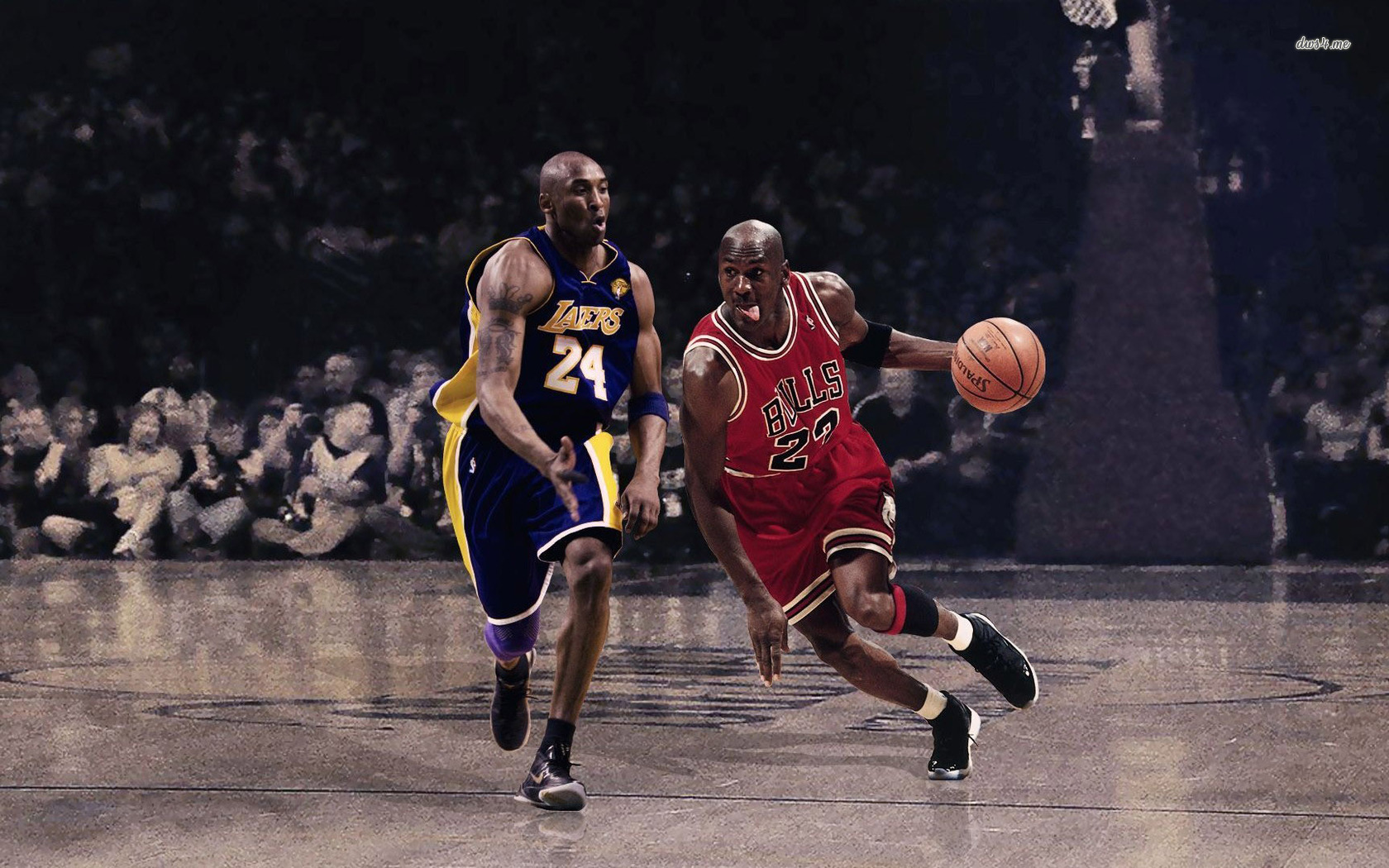Jordan wallpaper 1280x800 Kobe Bryant Vs Michael Jordan wallpaper 1680x1050