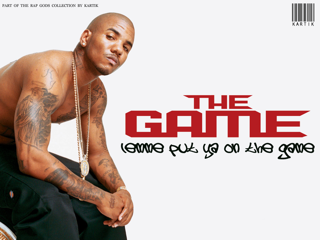 the game   The Game Rapper Wallpaper 610149 1024x768