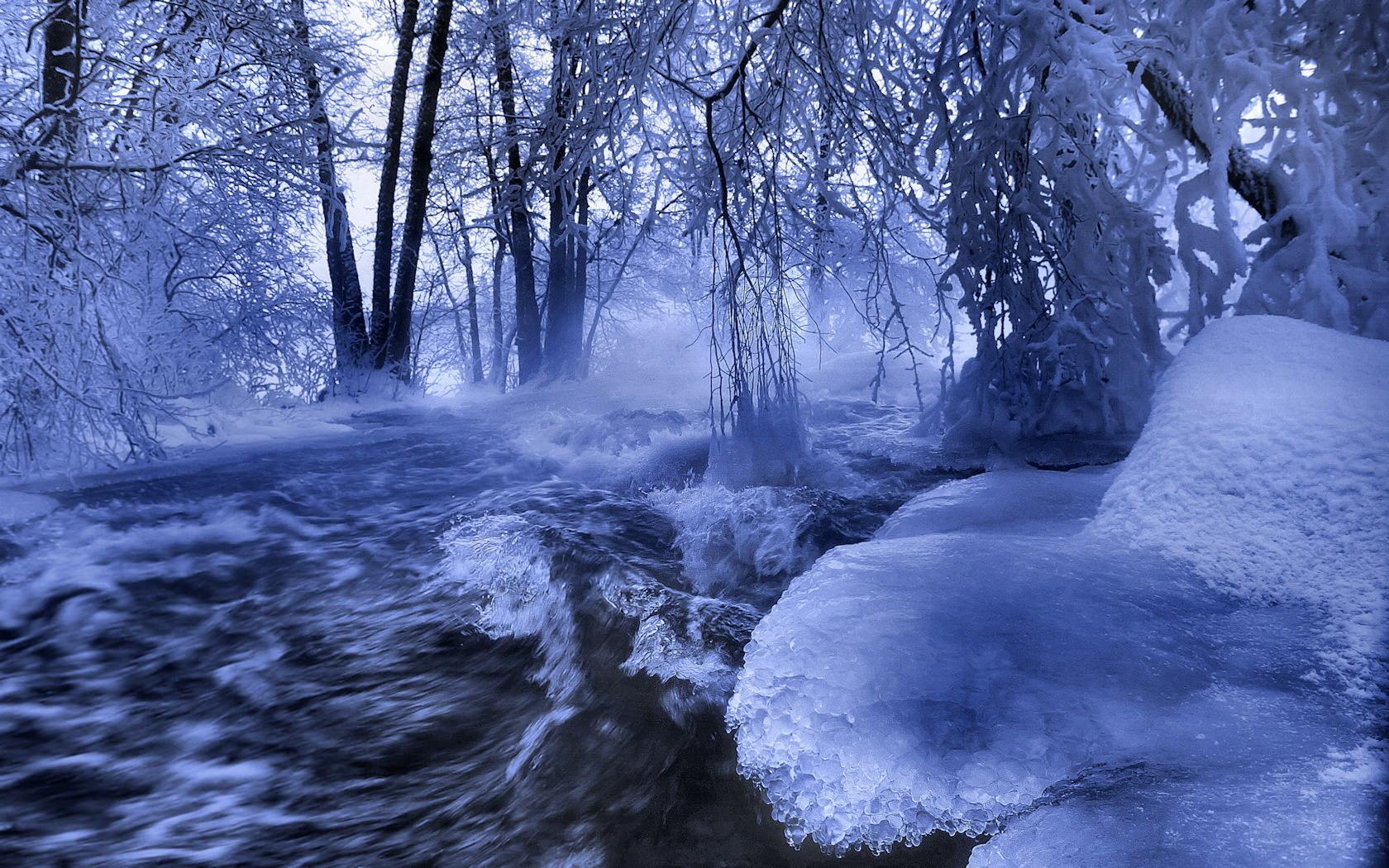 winter scene wallpaper 2015   Grasscloth Wallpaper 1680x1050