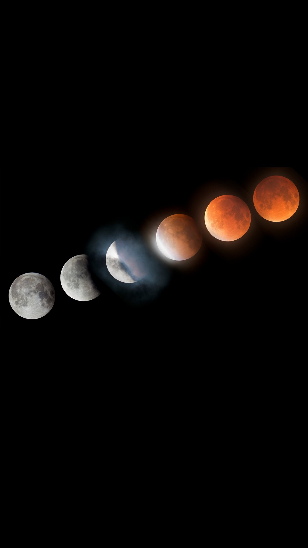 iPhone X Wallpaper Super Blood Moon Lunar Eclipse 2020 3D iPhone 1080x1920