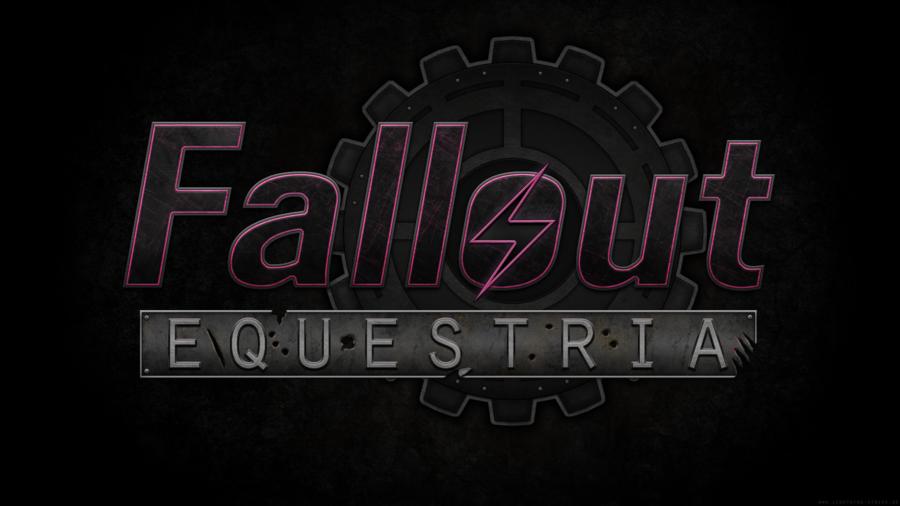 Fallout Equestria Logo Wallpaper by Lightning5trike on deviantART 900x506