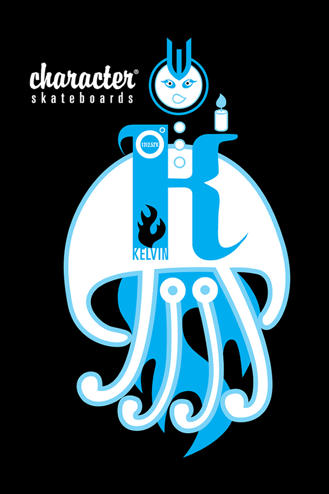 Character Skateboarding Iphone Wallpapers 640x960