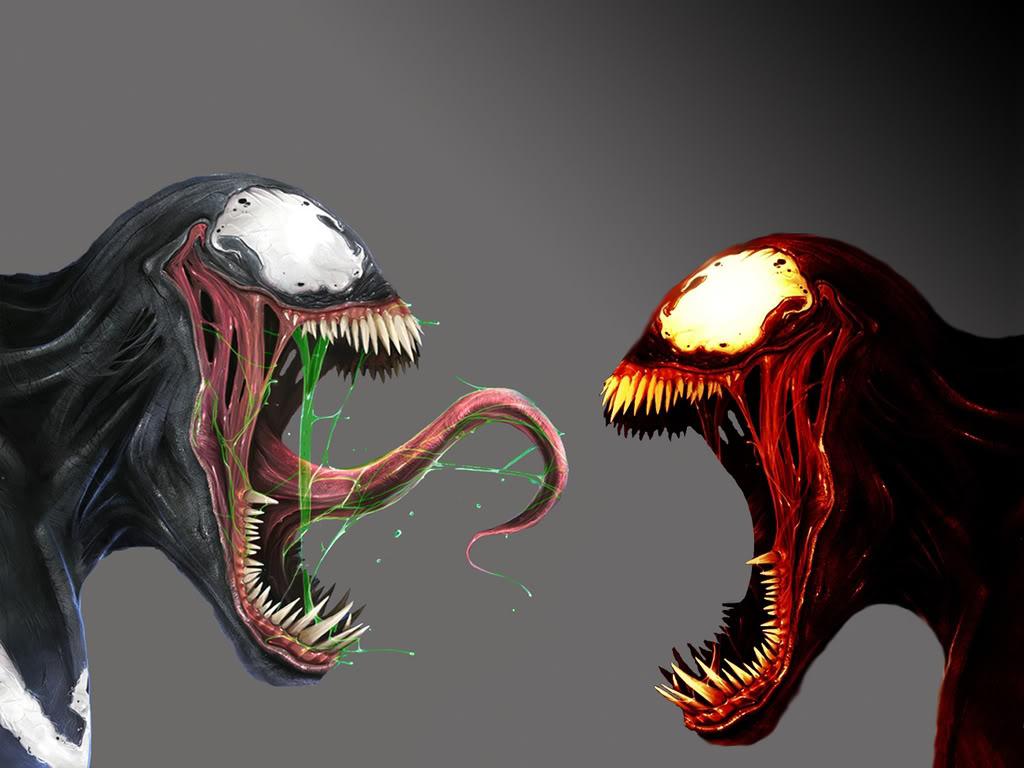 Venom Vs Carnage Wallpaper 1024x768