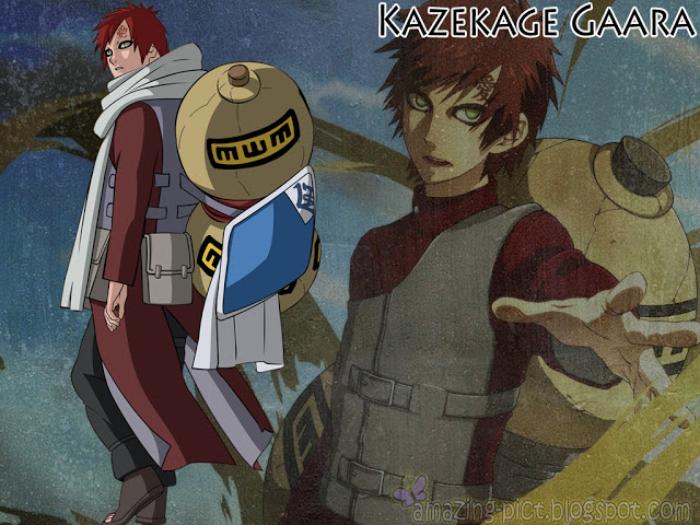 Kazekage Gaara Cool Wallpapers HD Amazing Picture 640x480