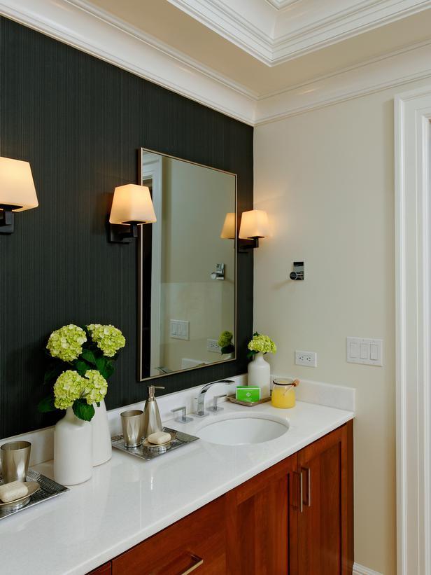 Free Download Wallpaper Bathroom Accent Wall Designers Portfolio Hgtv Home 616x821 For Your Desktop Mobile Tablet Explore 48 Seashell Wallpaper For Walls Cheap Wallpaper Wallpaper For Walls Kitchen Birch