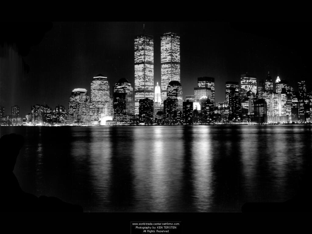 Free Download Black White Tall Buildings Wallpaper Desktop