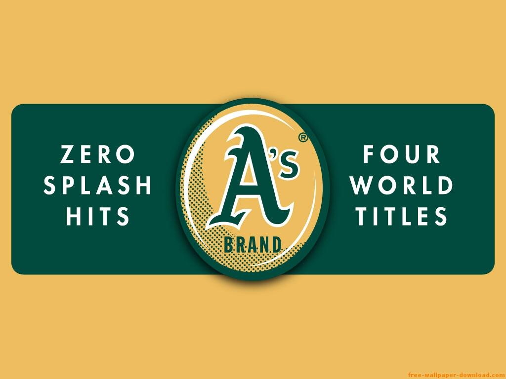 Fondos y wallpapers de Mlb para windows   Oakland Athletics 1024x768