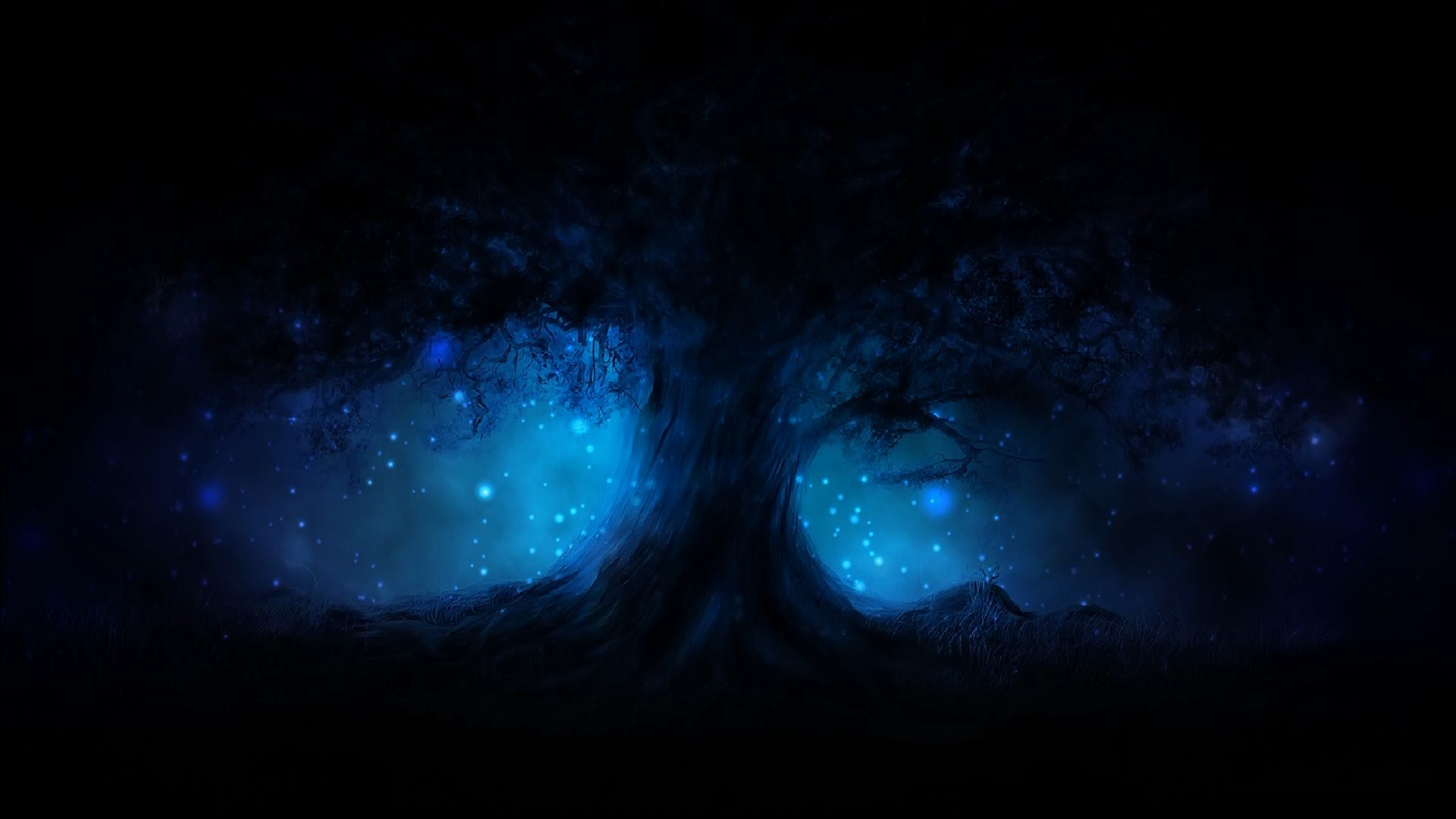 Black and Blue Abstract HD Widescreen Wallpaper 281   Amazing 1920x1080