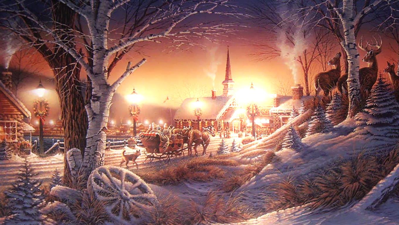 WallpapersKu Christmas Wallpapers 2 1360x768