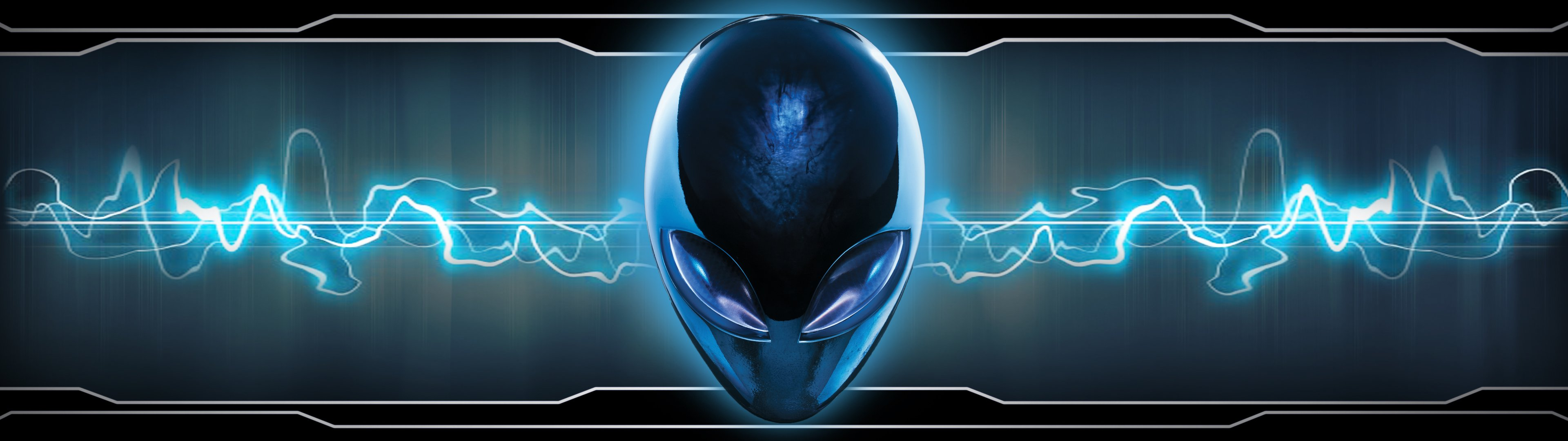 dual monitor scrren multi multiple alien alienware wallpaper 3840x1080
