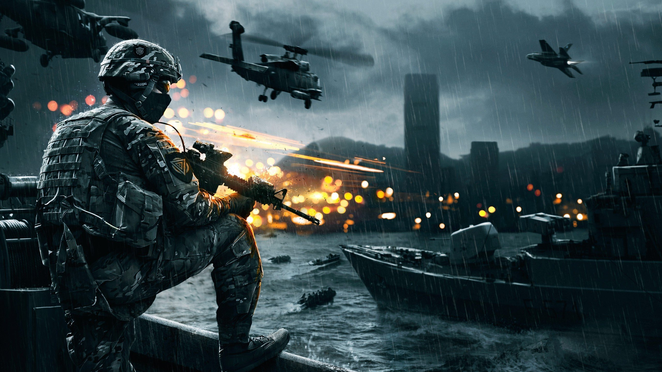 Battlefield 4 Wallpaper 2560x1440 Battlefield game hd wallpaper 2560x1440