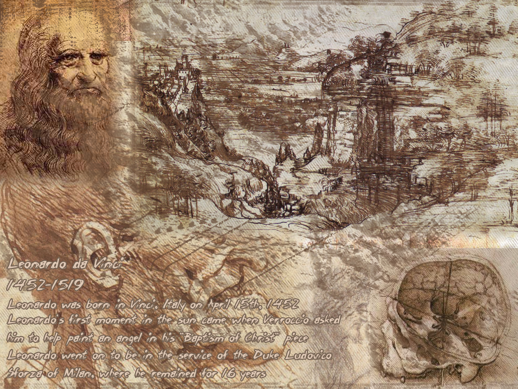 leonardo da vinci wallpaper wallpapersafari