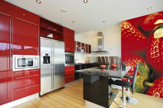 Top 10 modern kitchen wallpaper ideas Interior Exterior Ideas 550x366