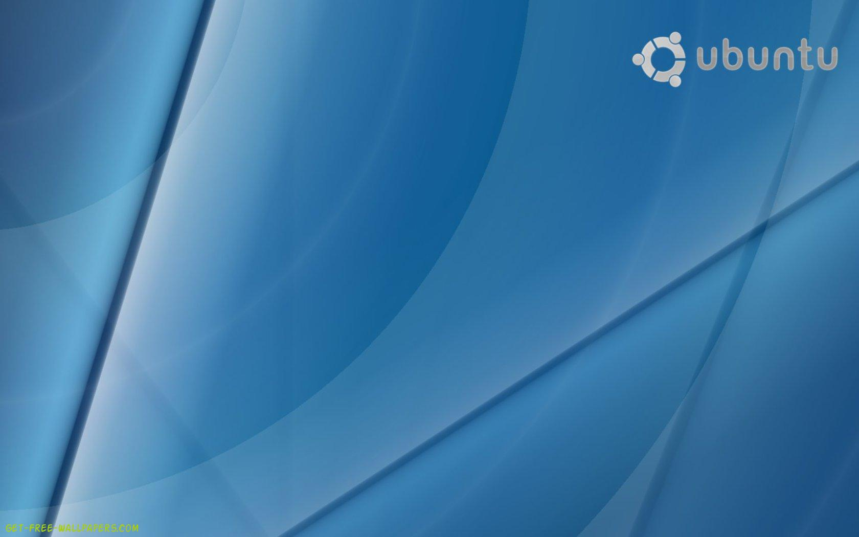 Download Blue Ubuntu Wallpaper 1680x1050