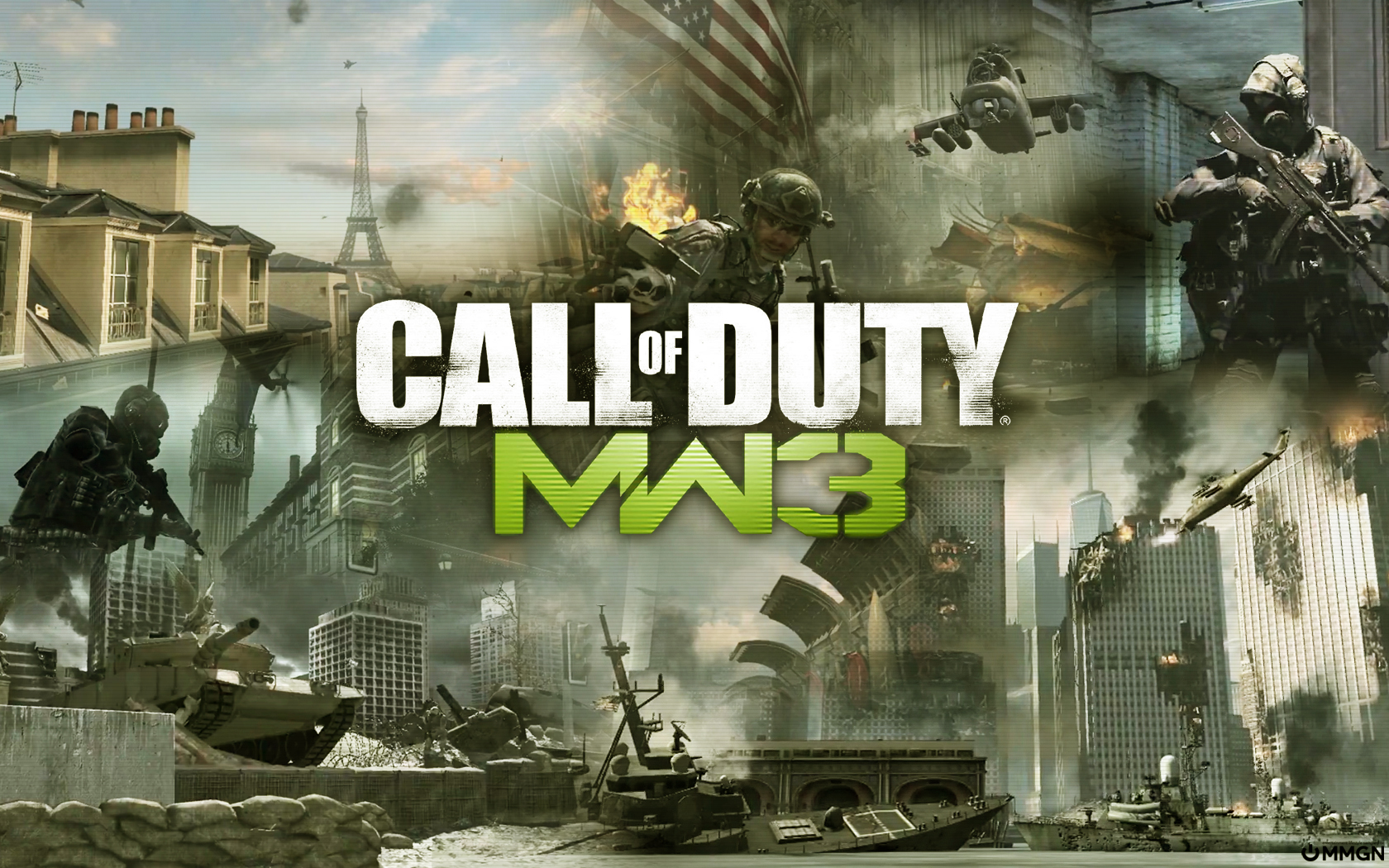 MW3 Wallpaper Hd Background 1680x1050