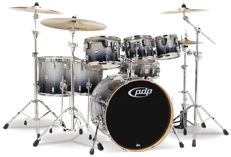 PDP Kits   Pacific Drums and Percussion Concept Maple CM7 shown 800x543