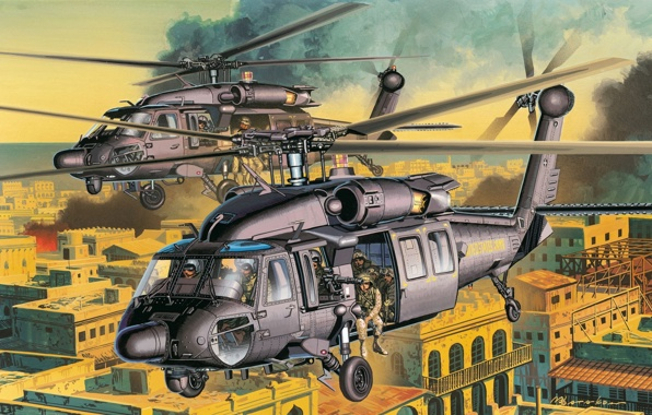 city street helicopter ah 60 us drums helicopters wallpapers 596x380