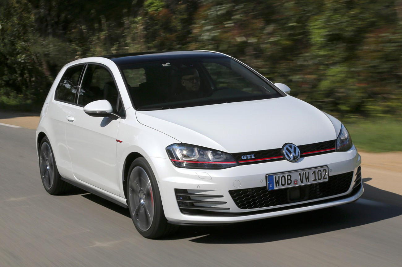 image 2015 Vw Golf Gti White PC Android iPhone and iPad Wallpapers 1300x863
