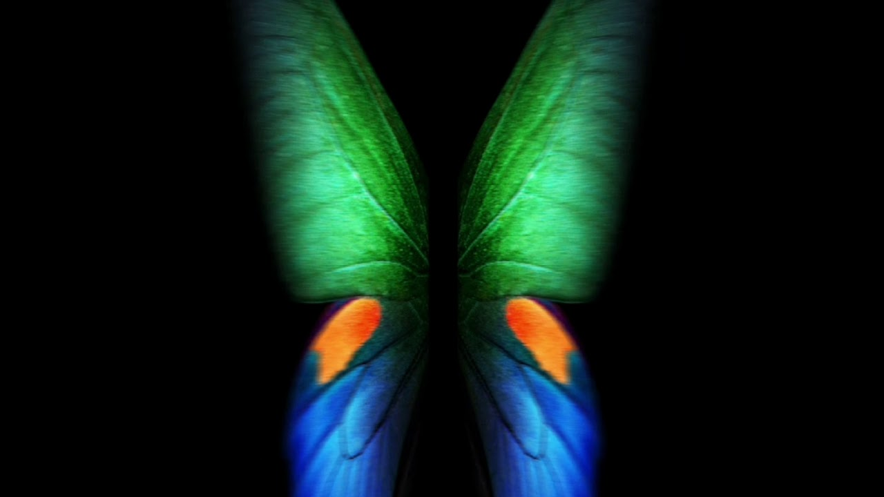 Galaxy Fold Live Wallpaper Color Full Screen 1280x720