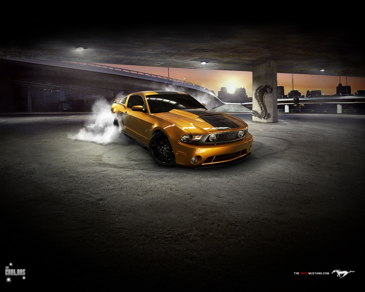 2010 Ford Mustang GT Exclusive HD Wallpapers 1368 1280x1024