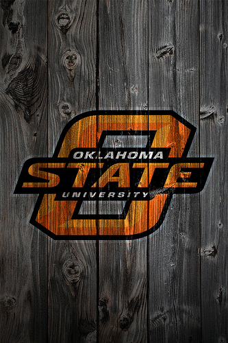 Oklahoma State Cowboys Wood iPhone 4 Background Flickr   Photo 333x500