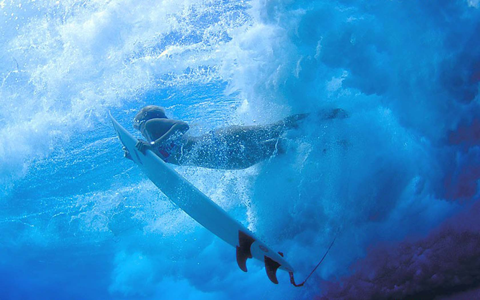 Pin Surf Girl Underwater Hd Wallpaper Placecom 1680x1050