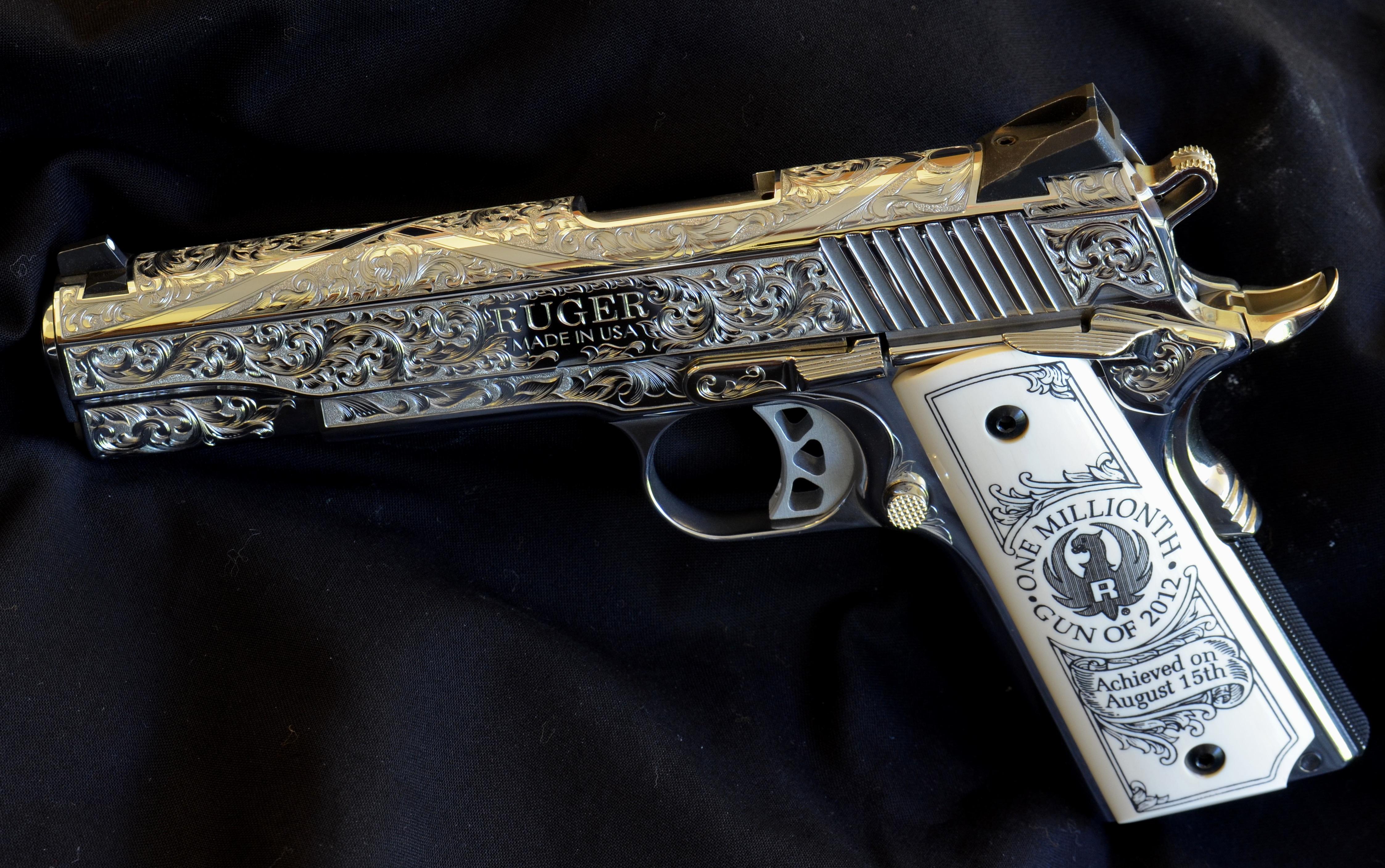 the millionth gun of 2012 was an sr1911 pistol 4490x2815
