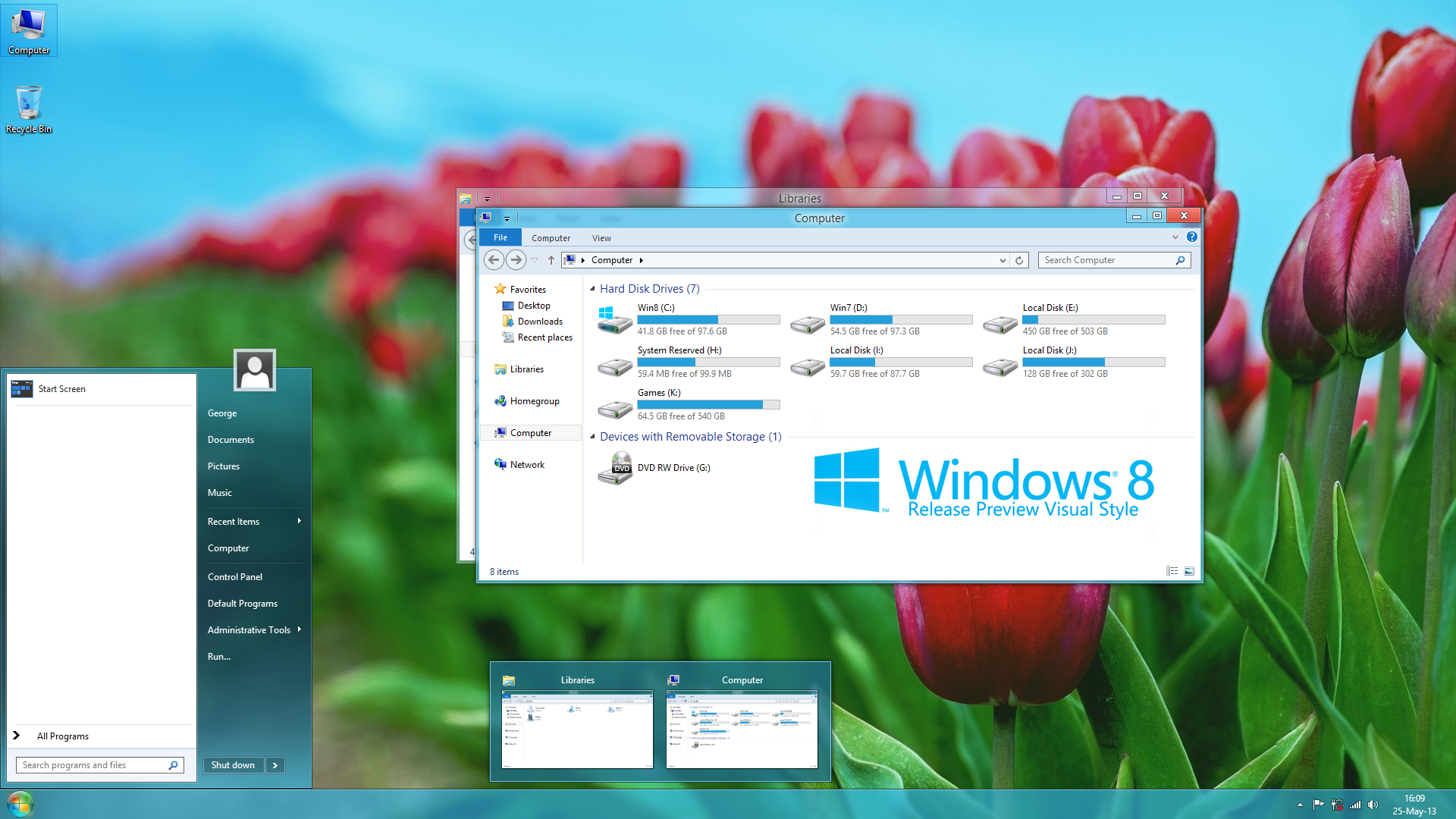 themes windows 8 utilities visual styles 8 release preview visual 1920x1080