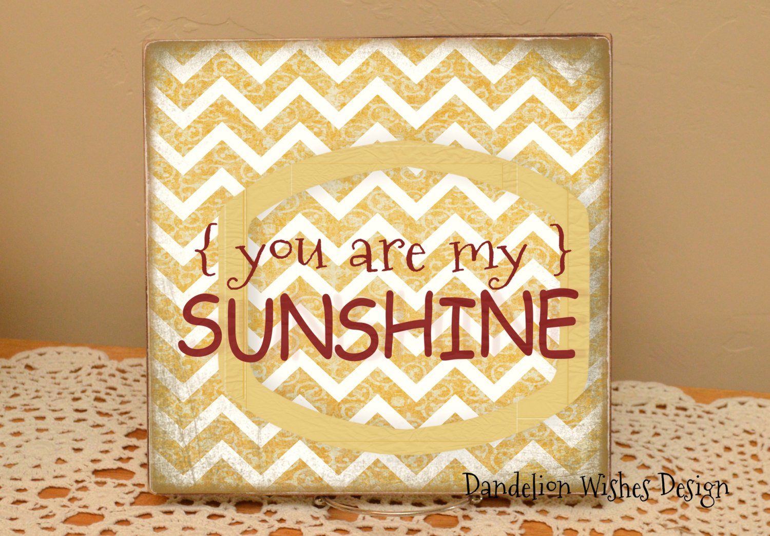 You Are My Sunshine Sign 12x12 by Dandelion Wishes Design on Zibbet 1500x1044