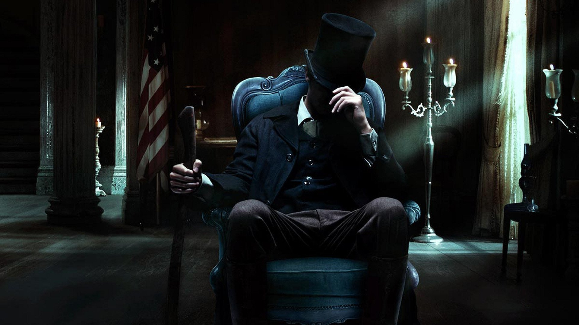 Abraham Lincoln Vampire Hunter Full HD Wallpaper and 1920x1080