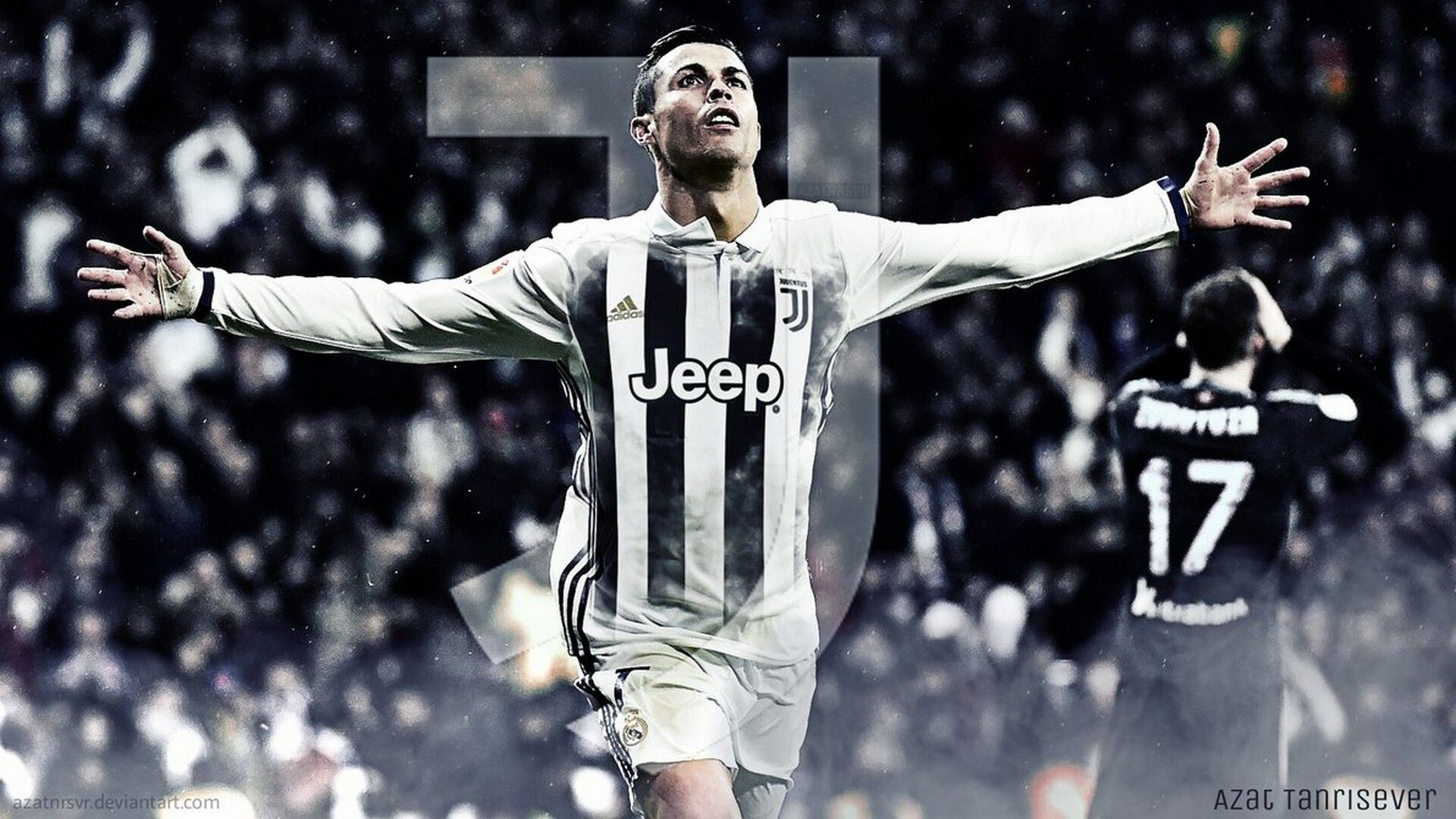 Wallpaper C Ronaldo Juventus Desktop Best Wallpaper HD 1920x1080